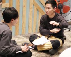高校教員からパーソナルトレーナーへの転職の岡田さんのプロジムでの画像